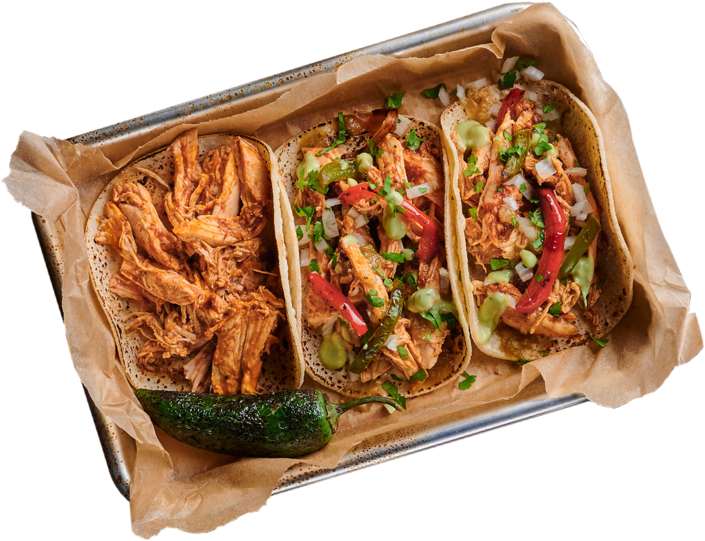 Platter of George Lopez Tacos