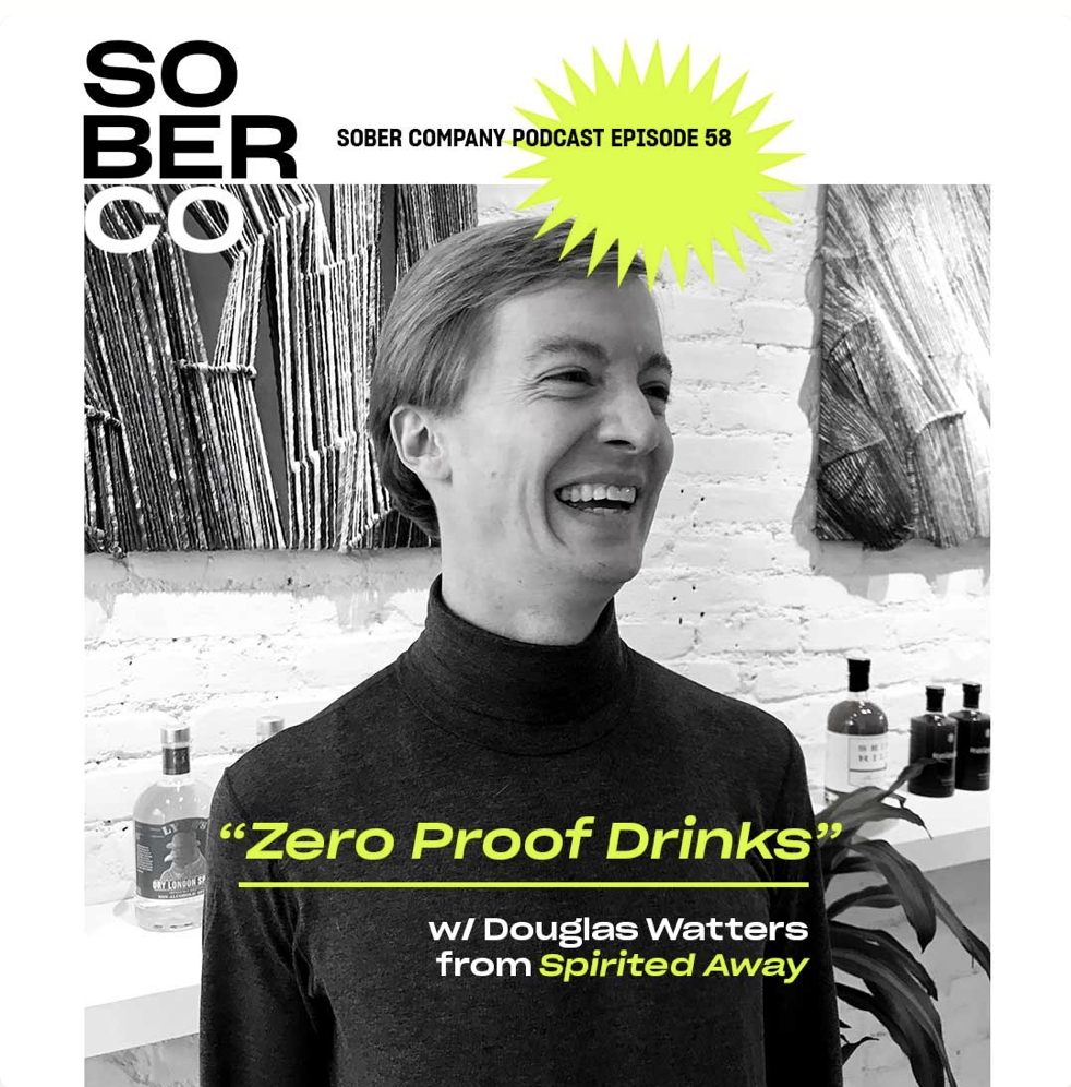 "NYC Podcast Sober Co invites one of our US partners Spirited Away onto their latest podcast ""Zero Proof Drinks"" to introduce their listeners to Noughty alcohol-free sparkling Chardonnay."