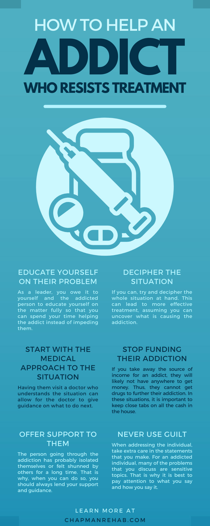 How To Help an Addict Who Resists Treatment
