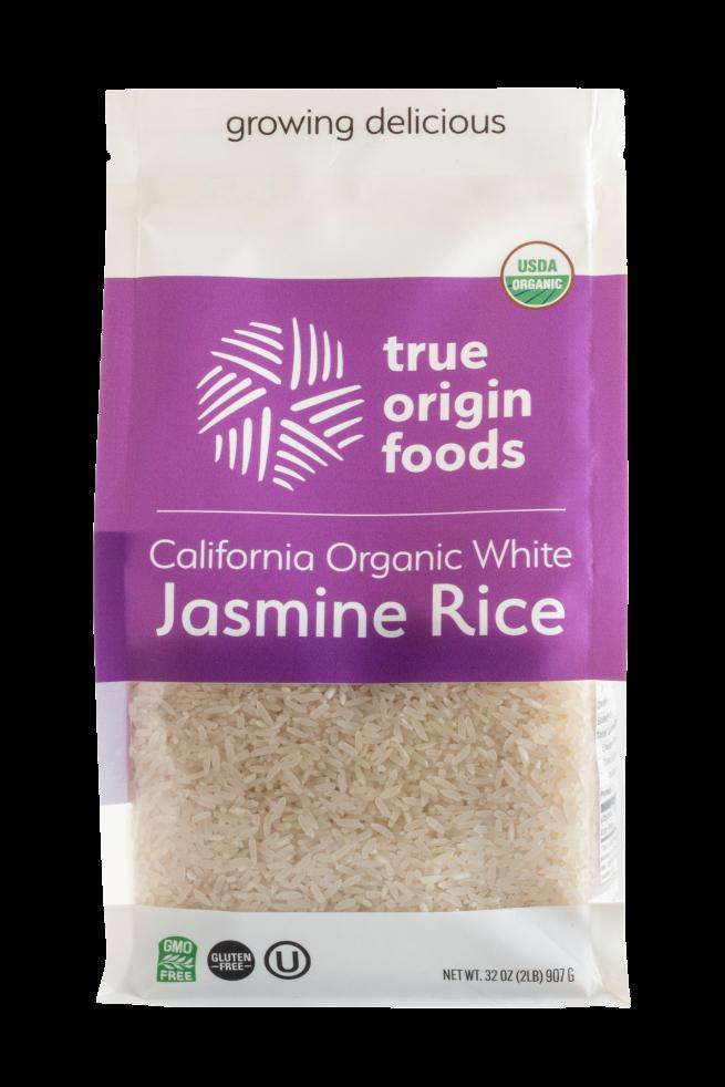 California Organic White Jasmine