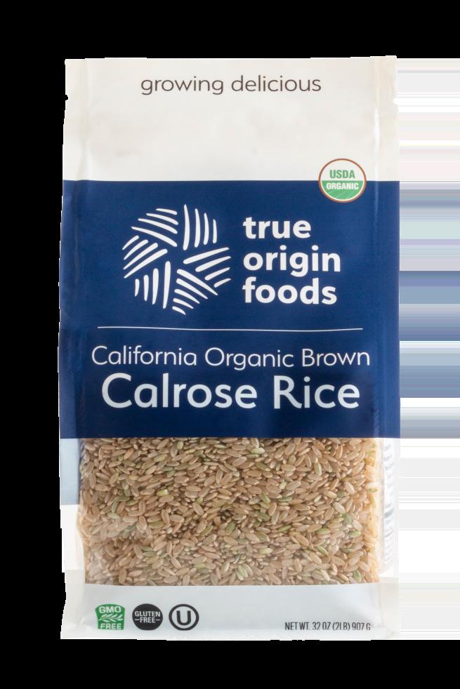 California Organic Calrose Brown