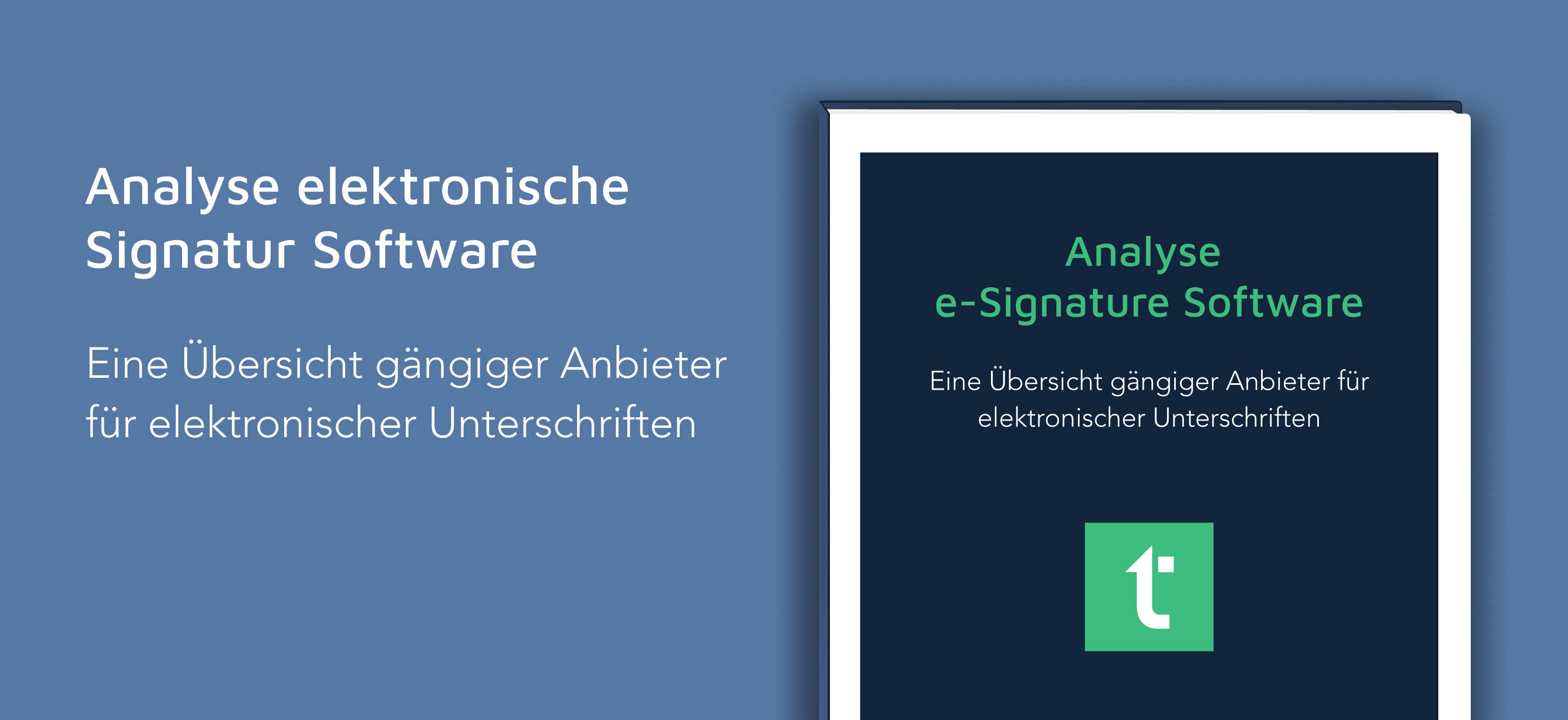 Analyse  e-Signature Software