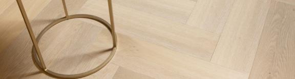 Afbeelding van PVC visgraat vloer