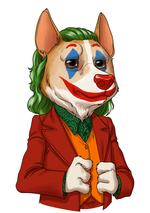 SpaceCorgi Joker - Is it just me, or is everything but $SCORGI getting crazier out there?