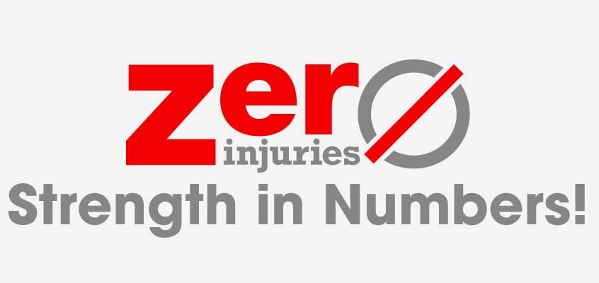 Zero Injuries Banner