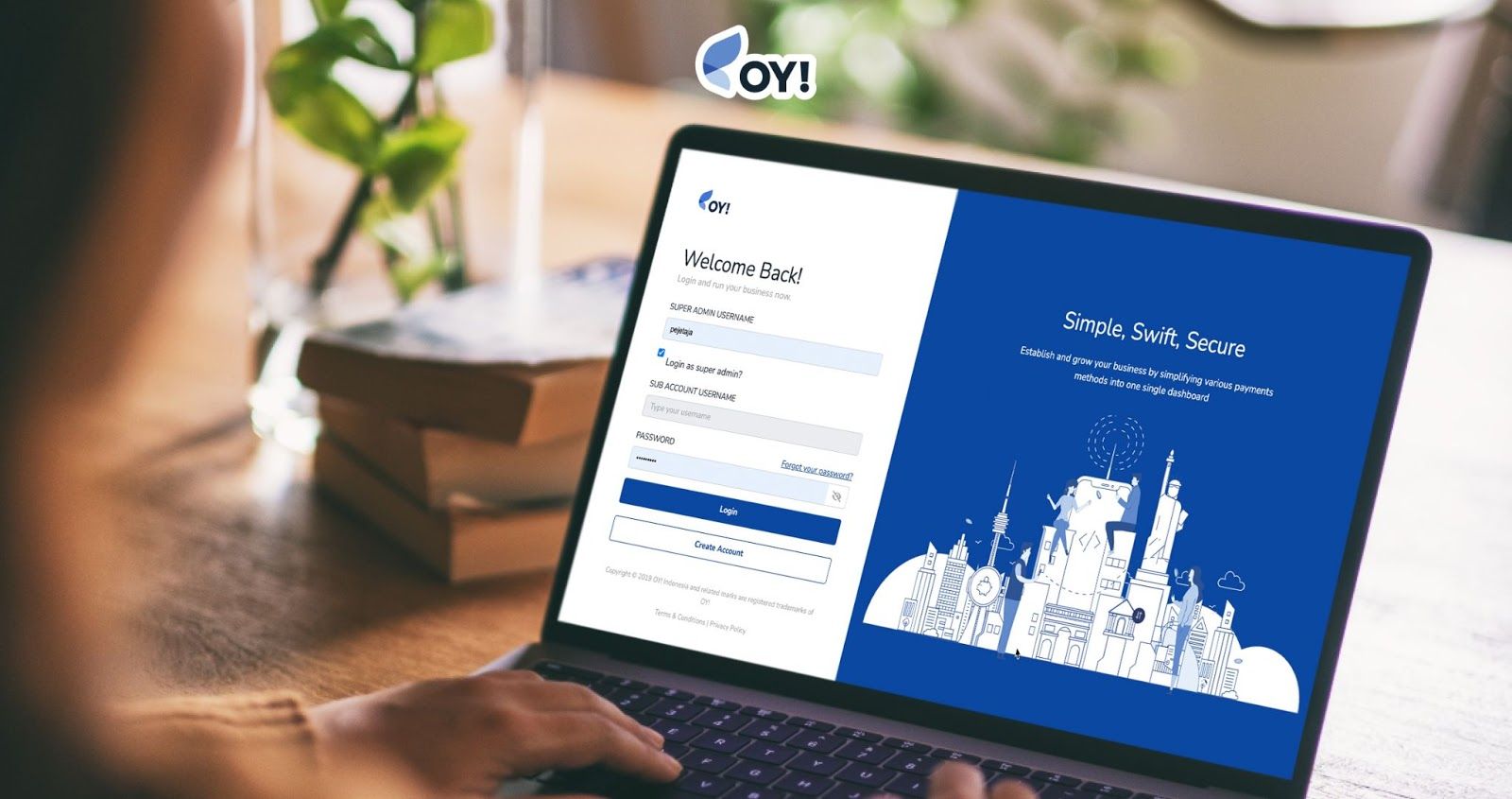 Payment Gateway Indonesia dengan OY! Bisnis