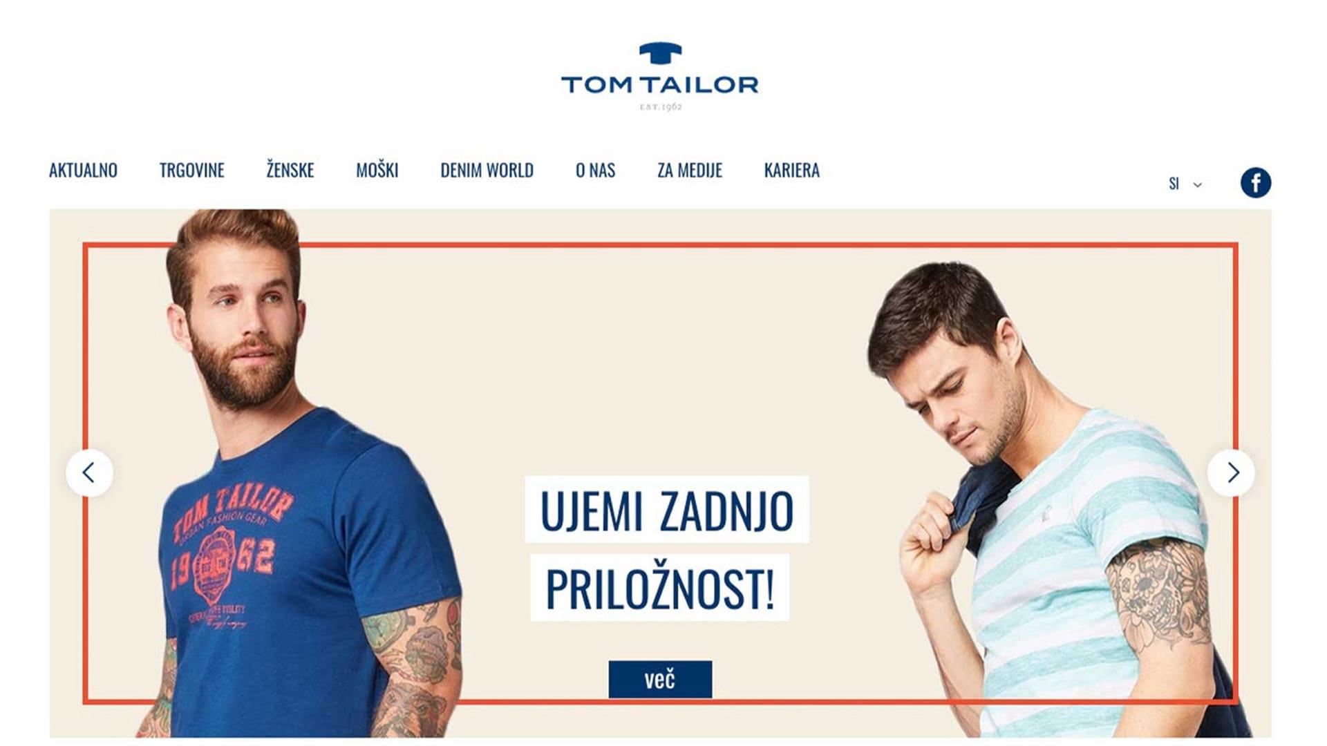 Tom Tailor: Digitalizacija zaposlitvenega procesa