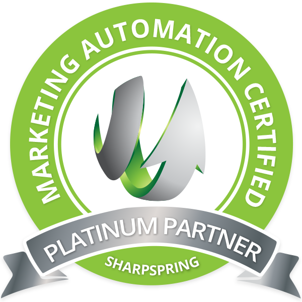 Sharpspring certificate logo