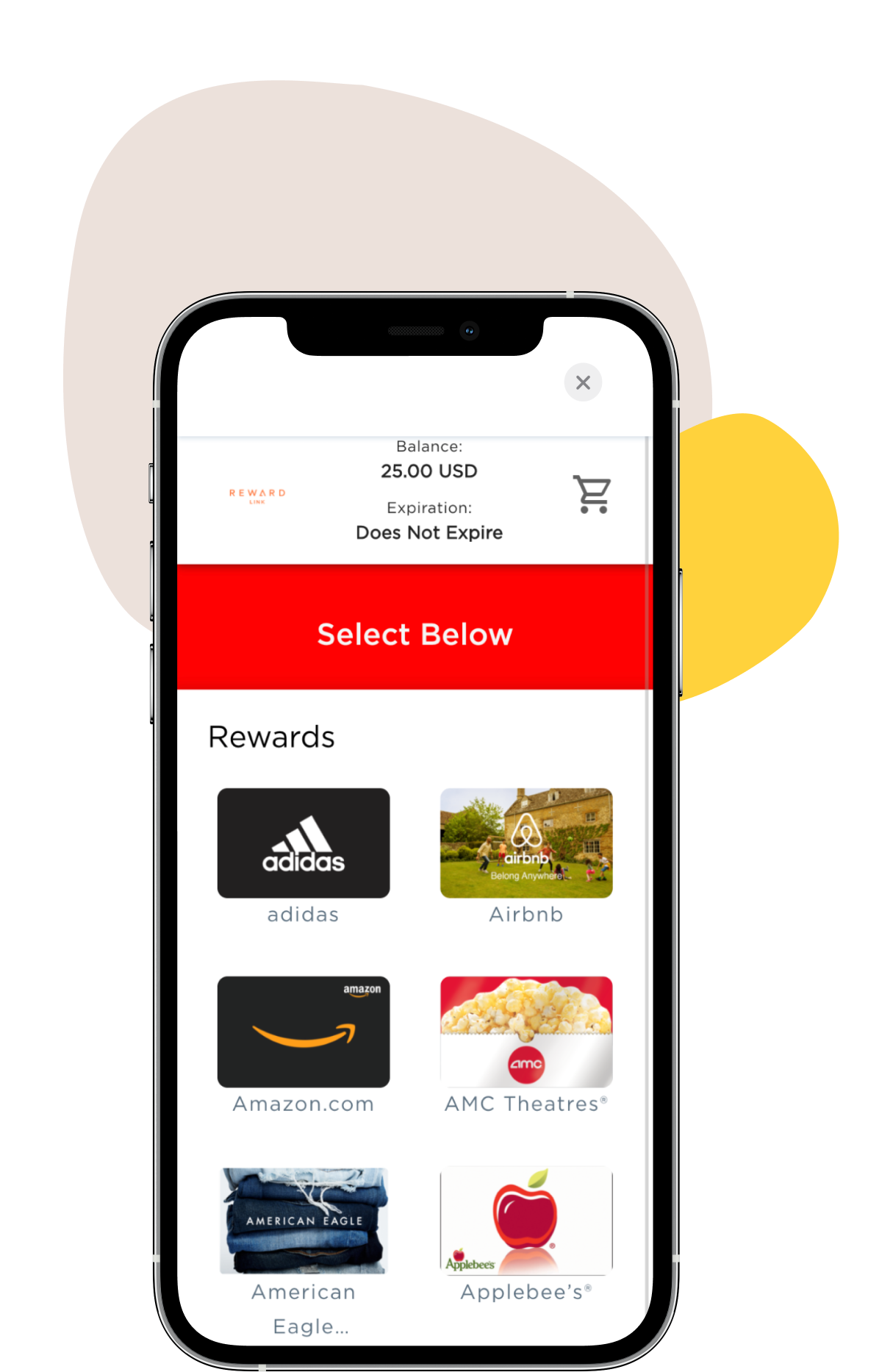 Appjobs Work app - Turn coins into gift cards