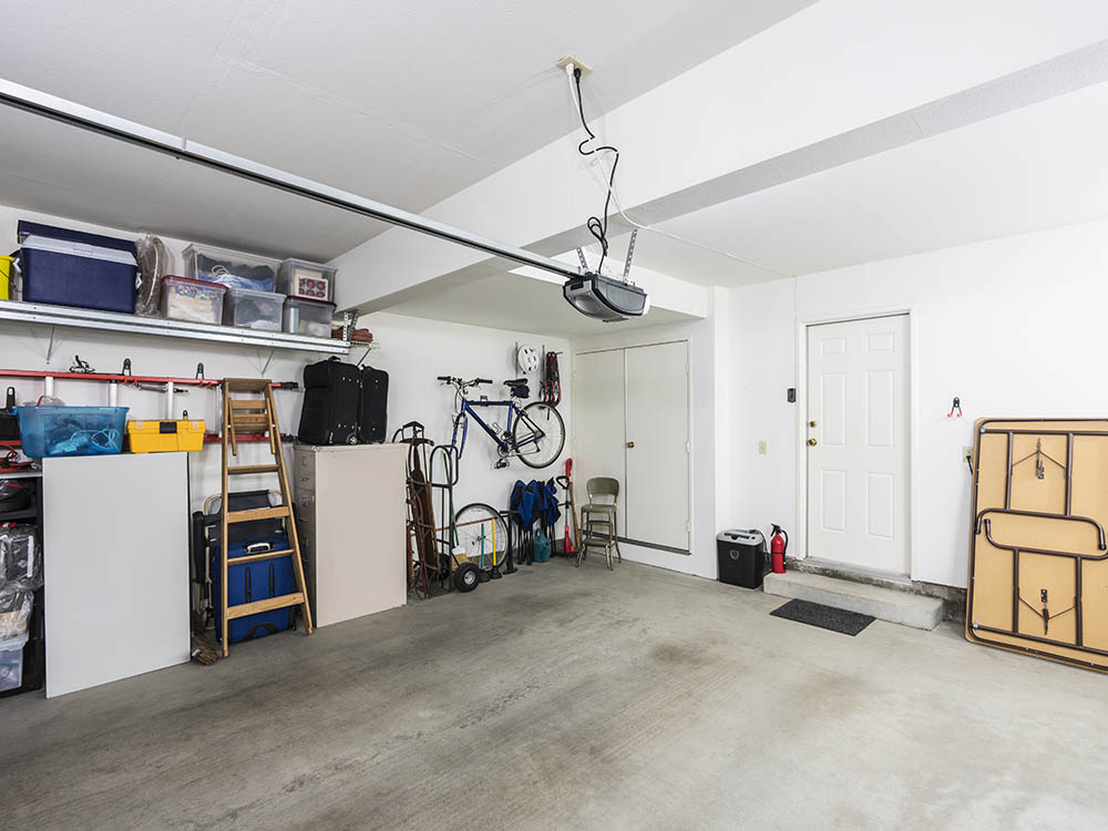 Garagestädning