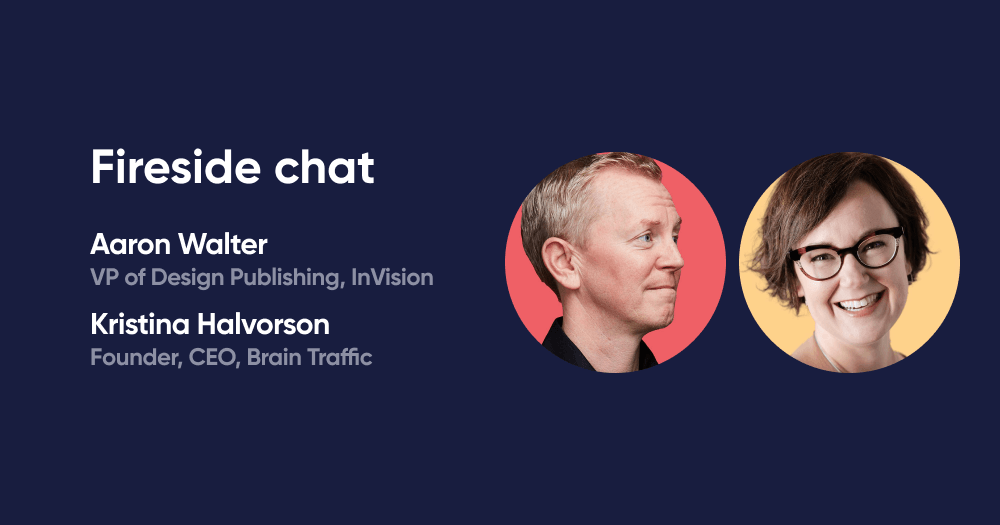 Fireside chat with Aarron Walter