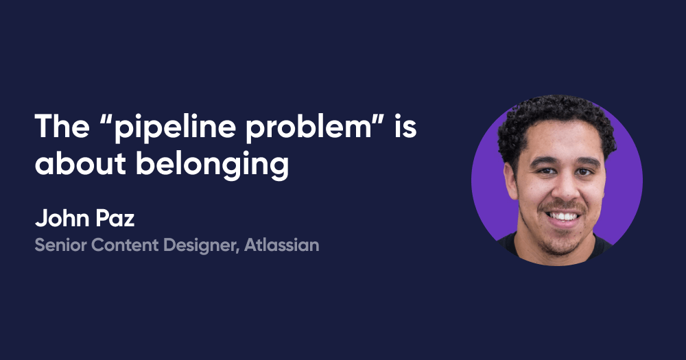 """The """"pipeline problem"""" is about belonging"""