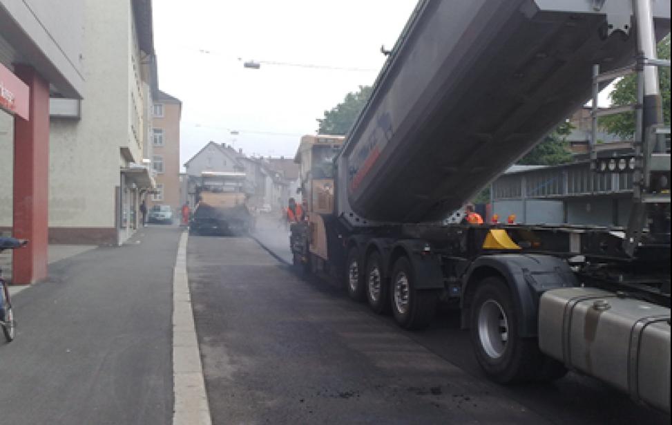 Erneuerung Neckarsulmer Straße in Heilbronn