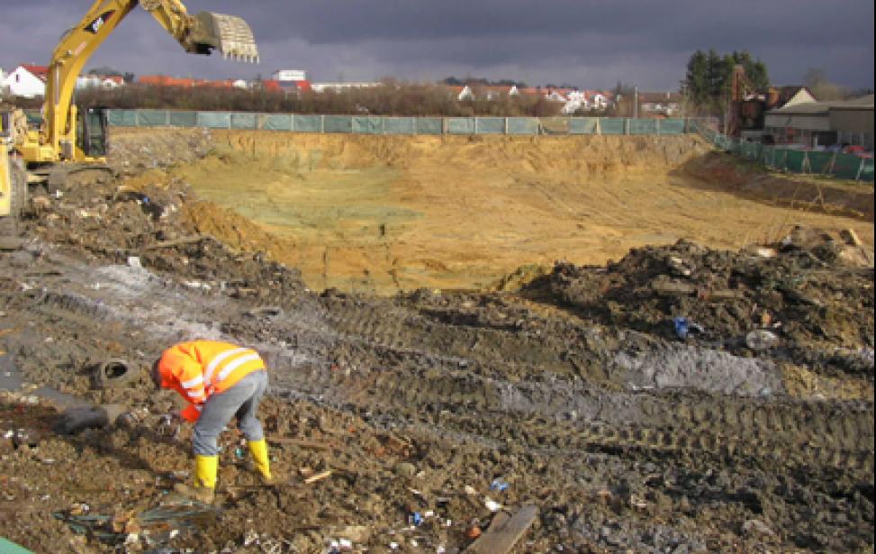 Sanierung Altablagerung Lehmgrube Biberach