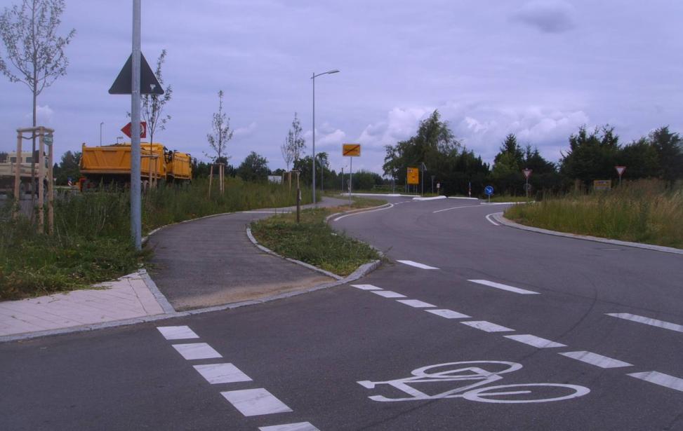 """Erschließung """"Gewerbegebiet am Autobahnanschluss Rutesheim"""""""