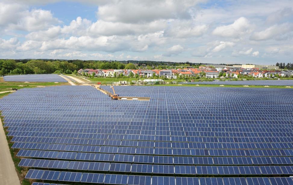 Nutzung der militärischen Konversionsfläche Mutlangen mit Photovoltaik