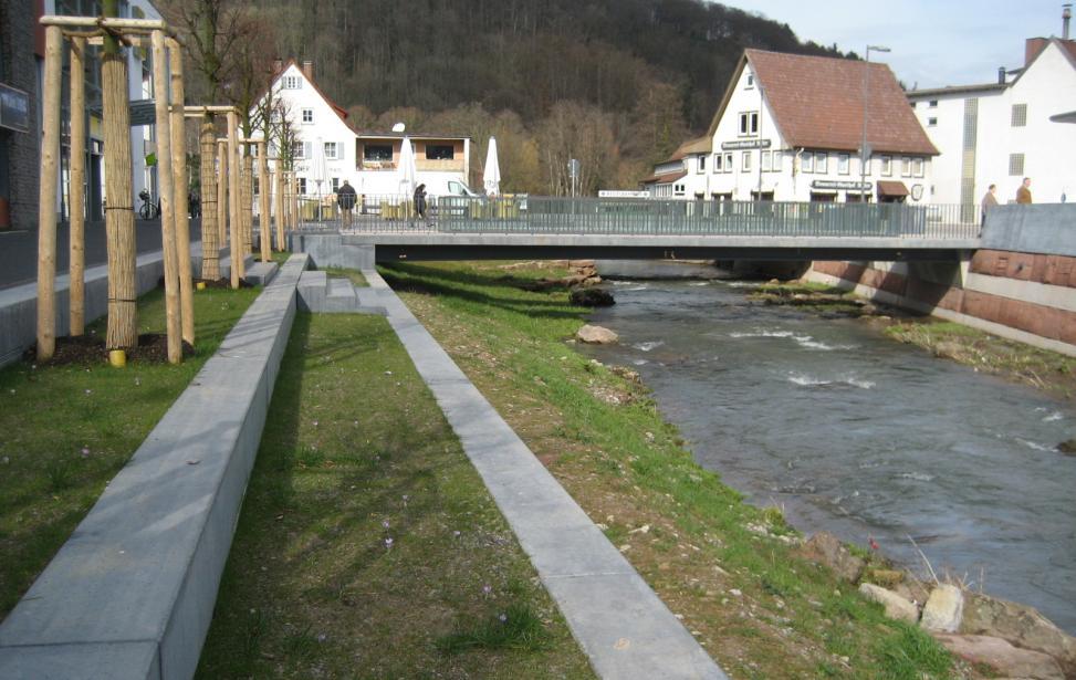 Neugestaltung Meisterweg und Renaturierung der Waldach in Nagold