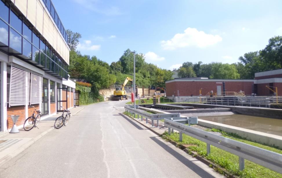 GKW Ditzingen. Erweiterung und Sanierung mechanische und biologische Stufe