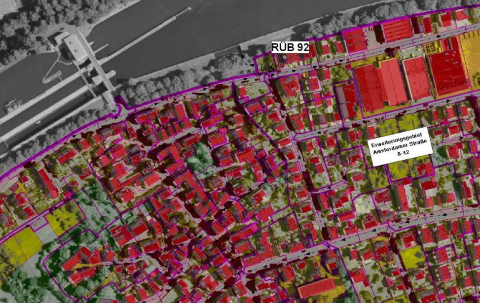 Allgemeiner Kanalisationsplan der Teilgebiete III /IVa der Stadt Heilbronn
