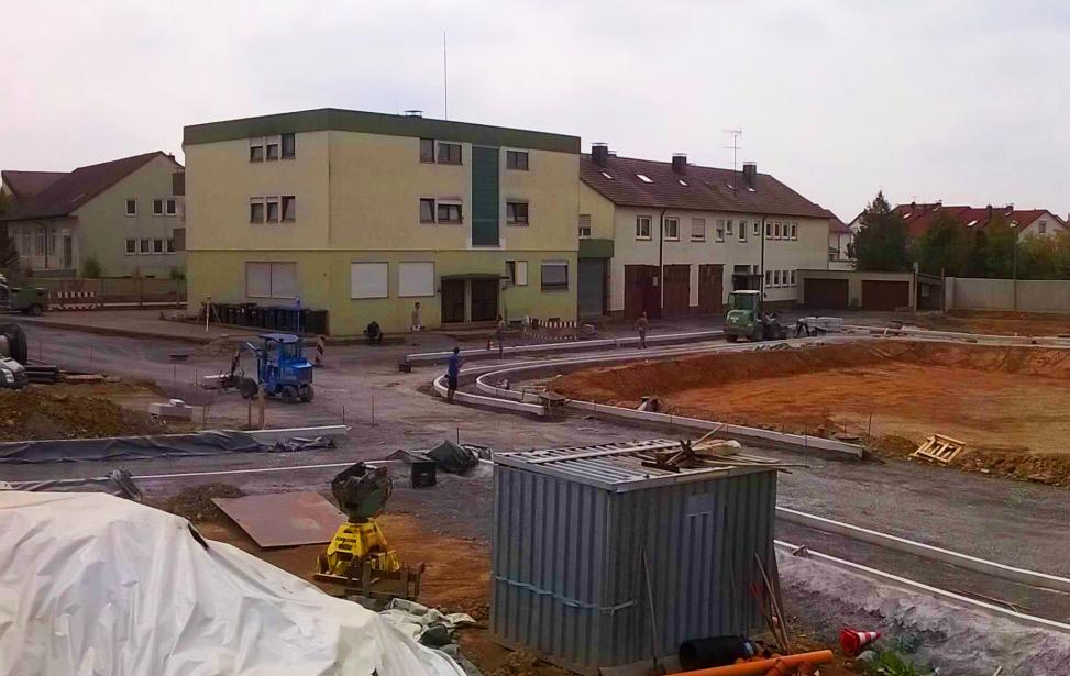 Erschließung des Wohngebietes Taläcker in Rutesheim