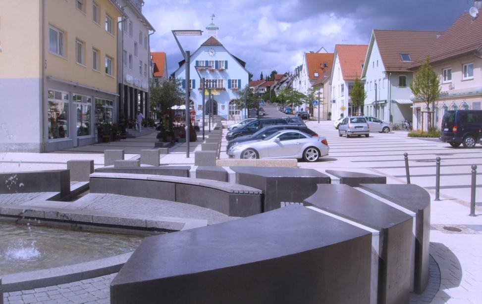Ortskernsanierung und Straßenumgestaltung in Rutesheim