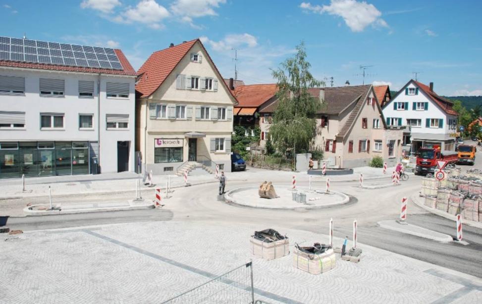 Sanierung der Ortsmitte in Winterbach