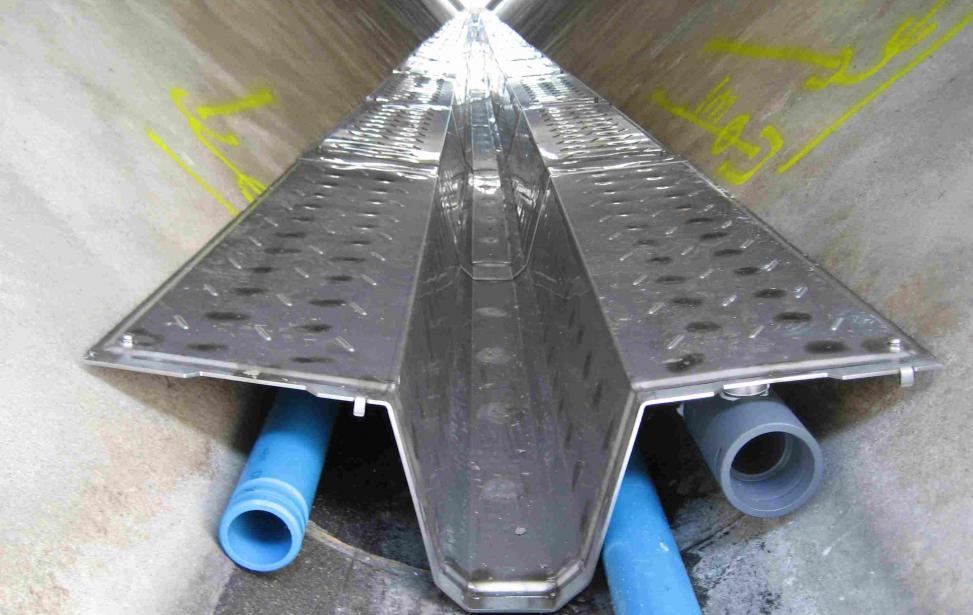 Anlage zur Abwasserwärmenutzung Bretten