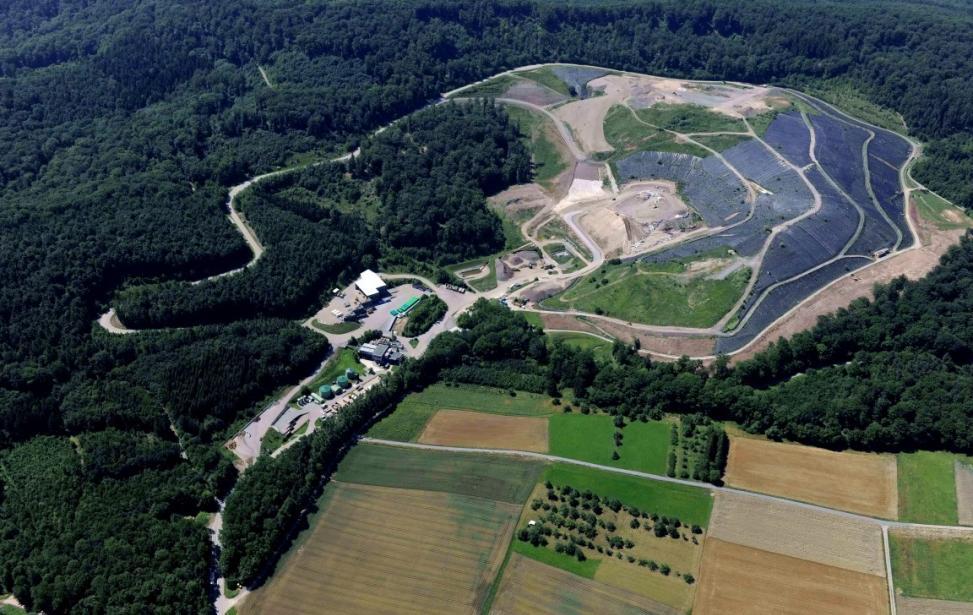 Ausbau, Erweiterung und Betreuung der Deponie Burghof