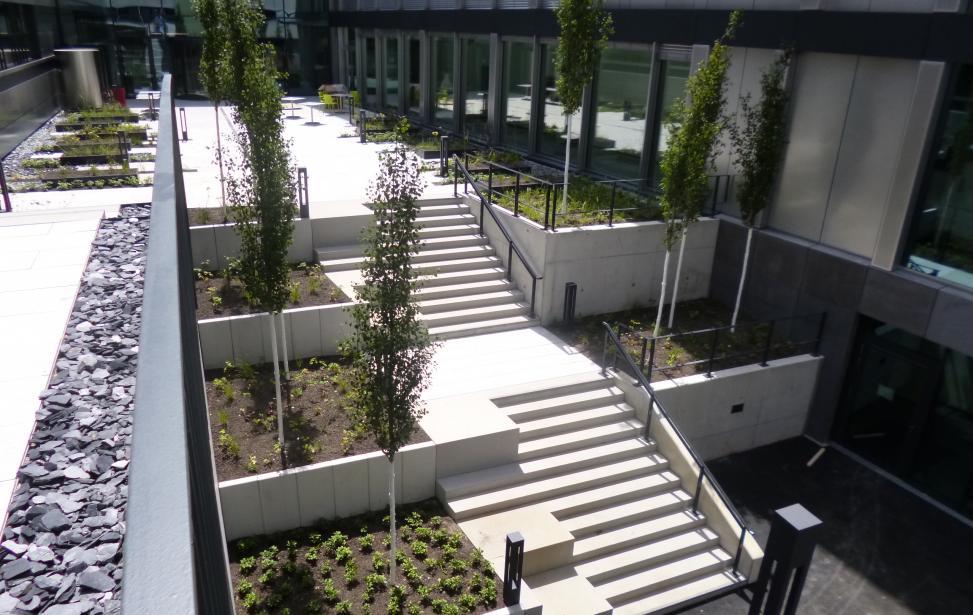 MANN+HUMMEL GmbH Neubau Technologiezentrum (Außenanlagen)