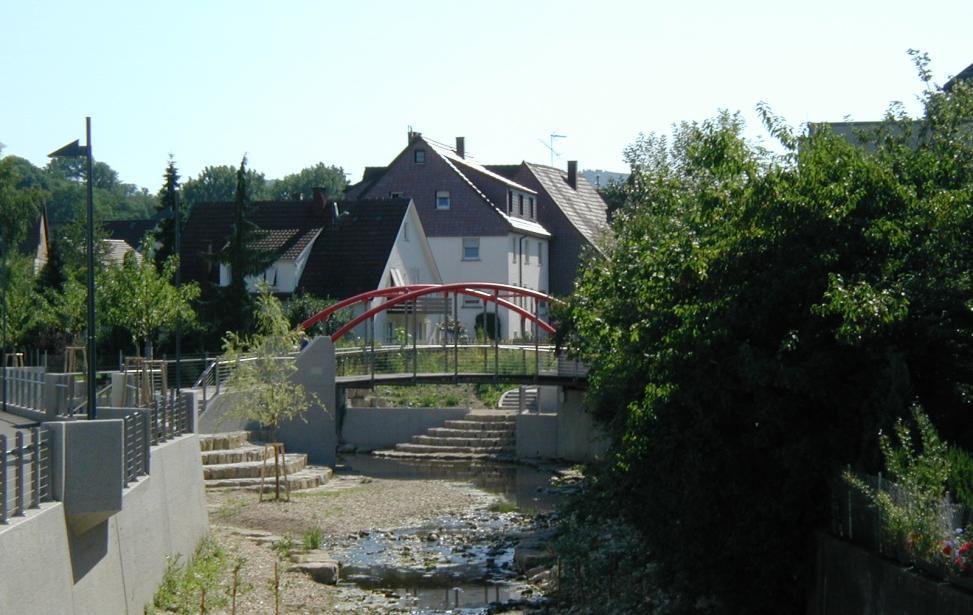Hochwasserschutzmaßnahmen und Neugestaltung der Krumm in Eislingen