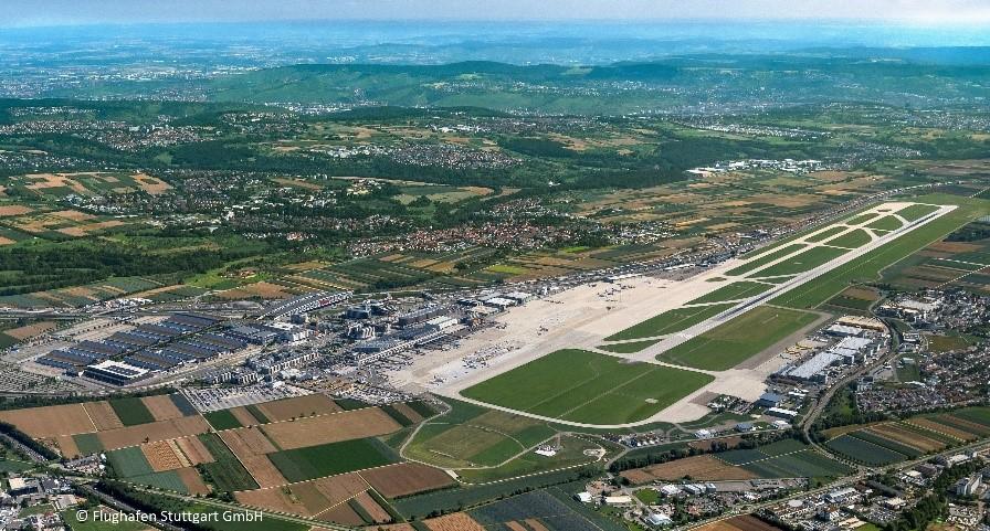 Aktualisierung der wasserrechtlichen Erlaubnis der Regenklärbecken am Flughafen Stuttgart nach den neuen Richtlinien DWA-A102