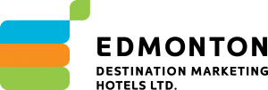 Edmonton Destination Marketing Hotels logo