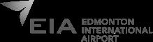 Edmonton International Airport Logo greyscale