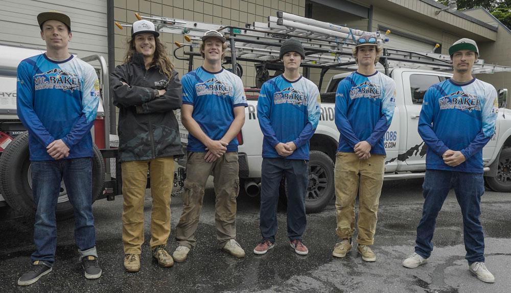 Mt. Baker's Team.