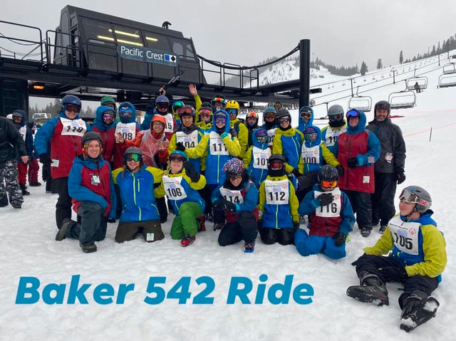 Baker 542 Ride's team.