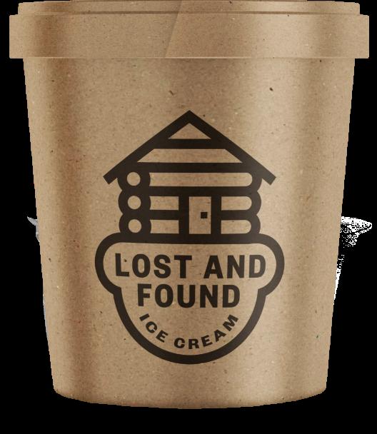Lost & Found Ice cream Tub