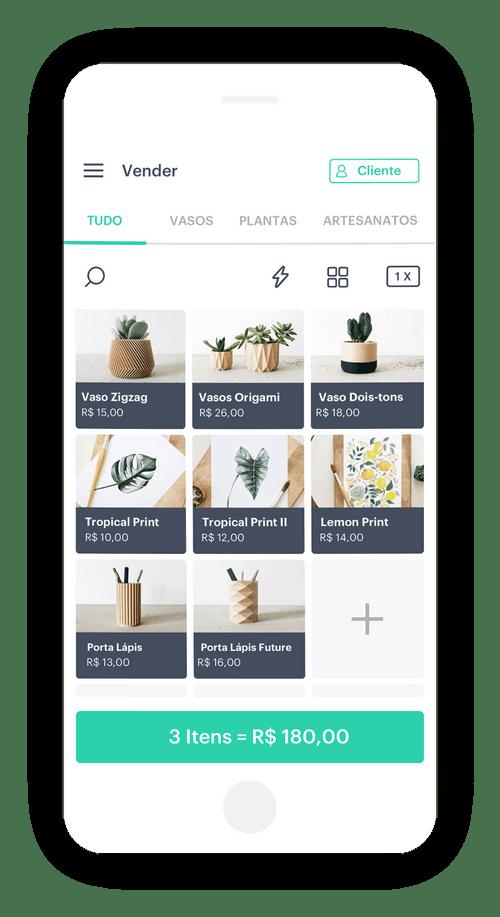 app para vender online com pdv completo