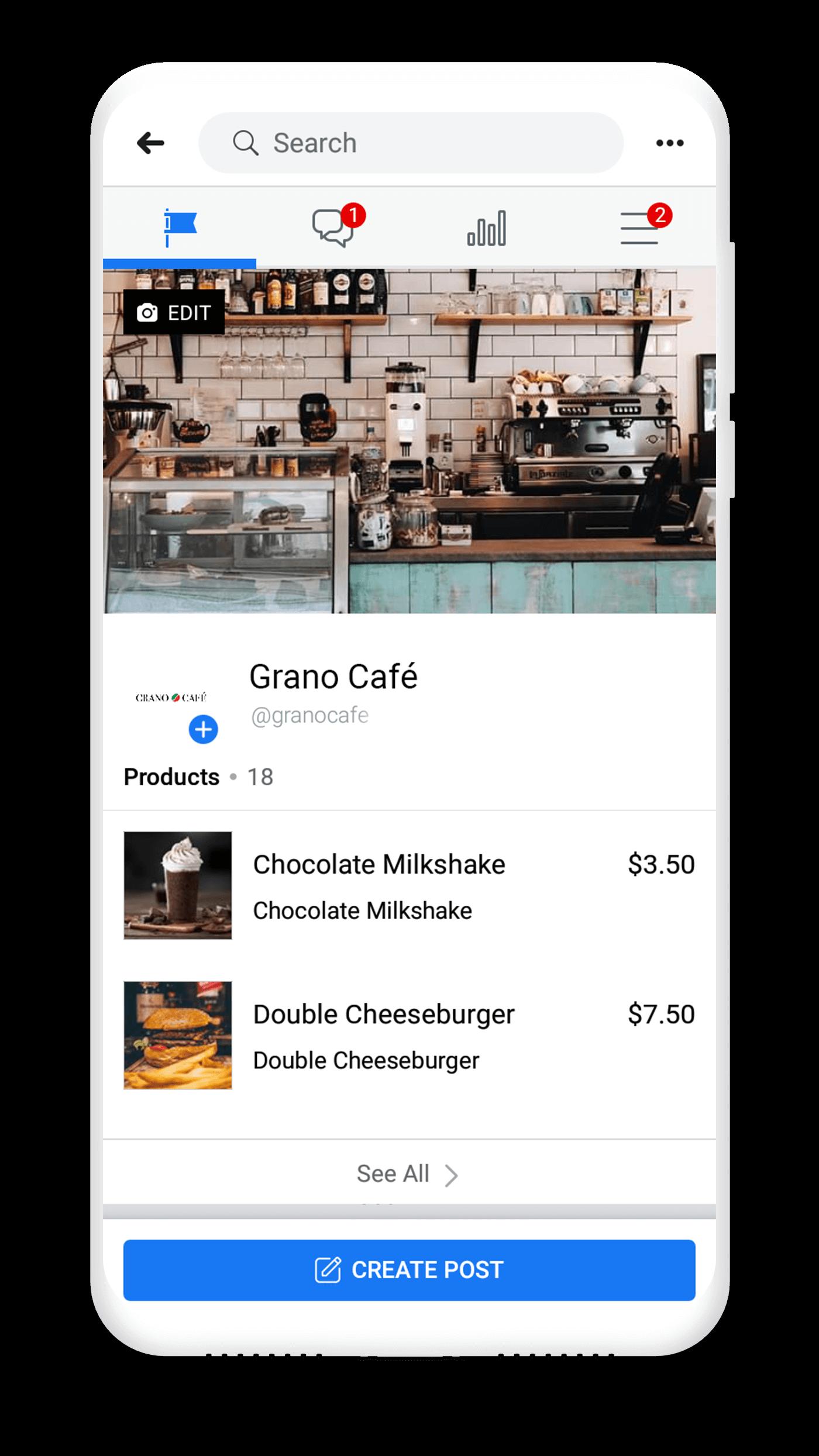 Set up a Facebook Shop & Catalog