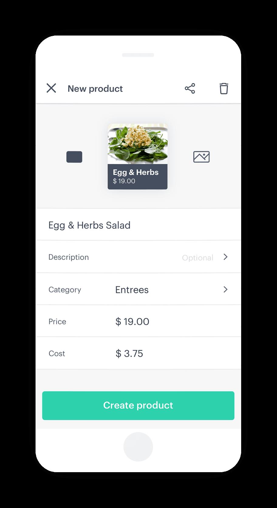 Adding your menu items