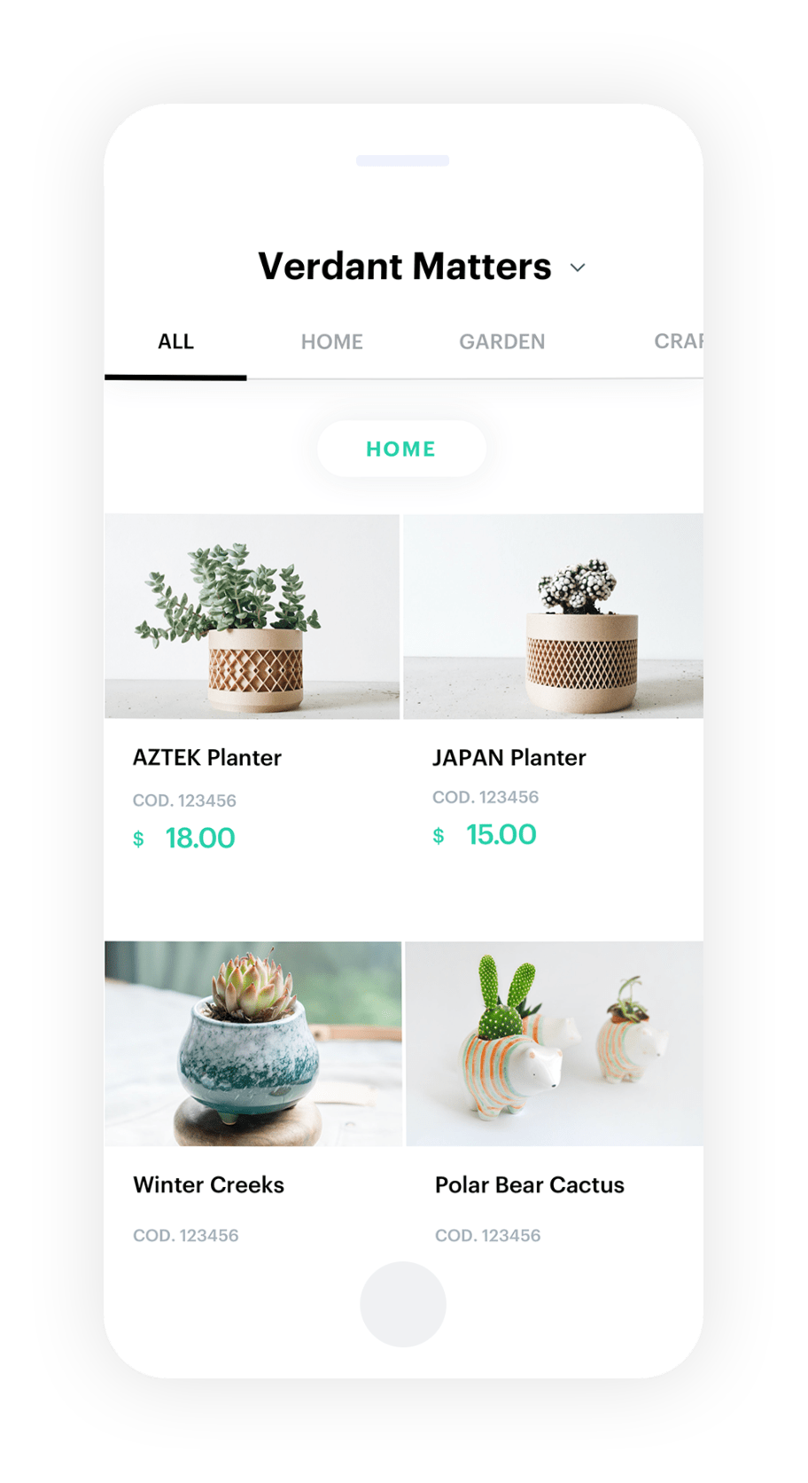 The app to create an Online Catalog