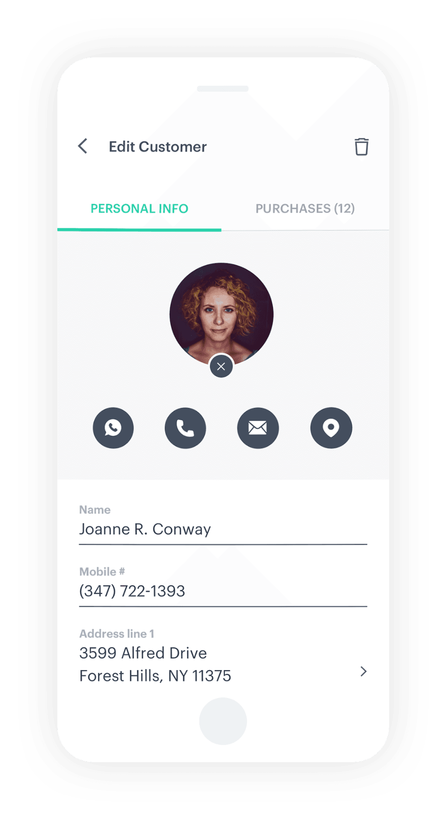 create customer profiles