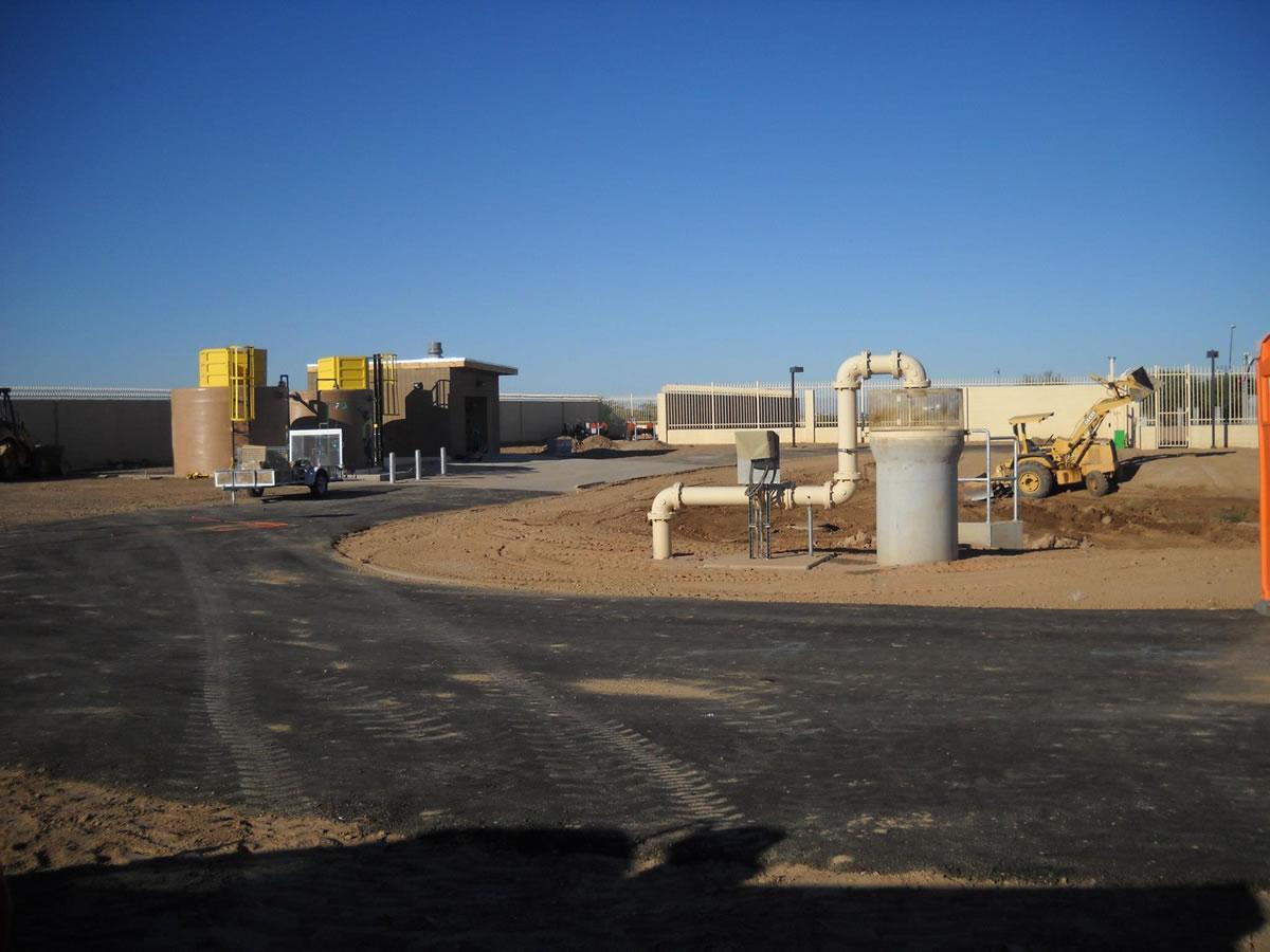 Pecos Rd. Sulfide Station