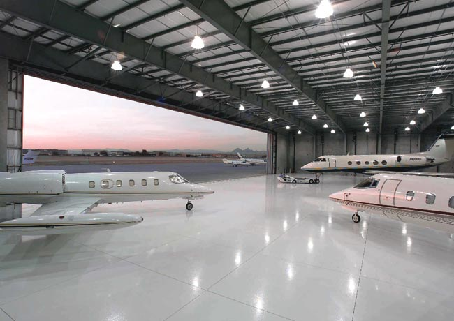 NSA-8 Aviation Complex (Hangar and Offices)