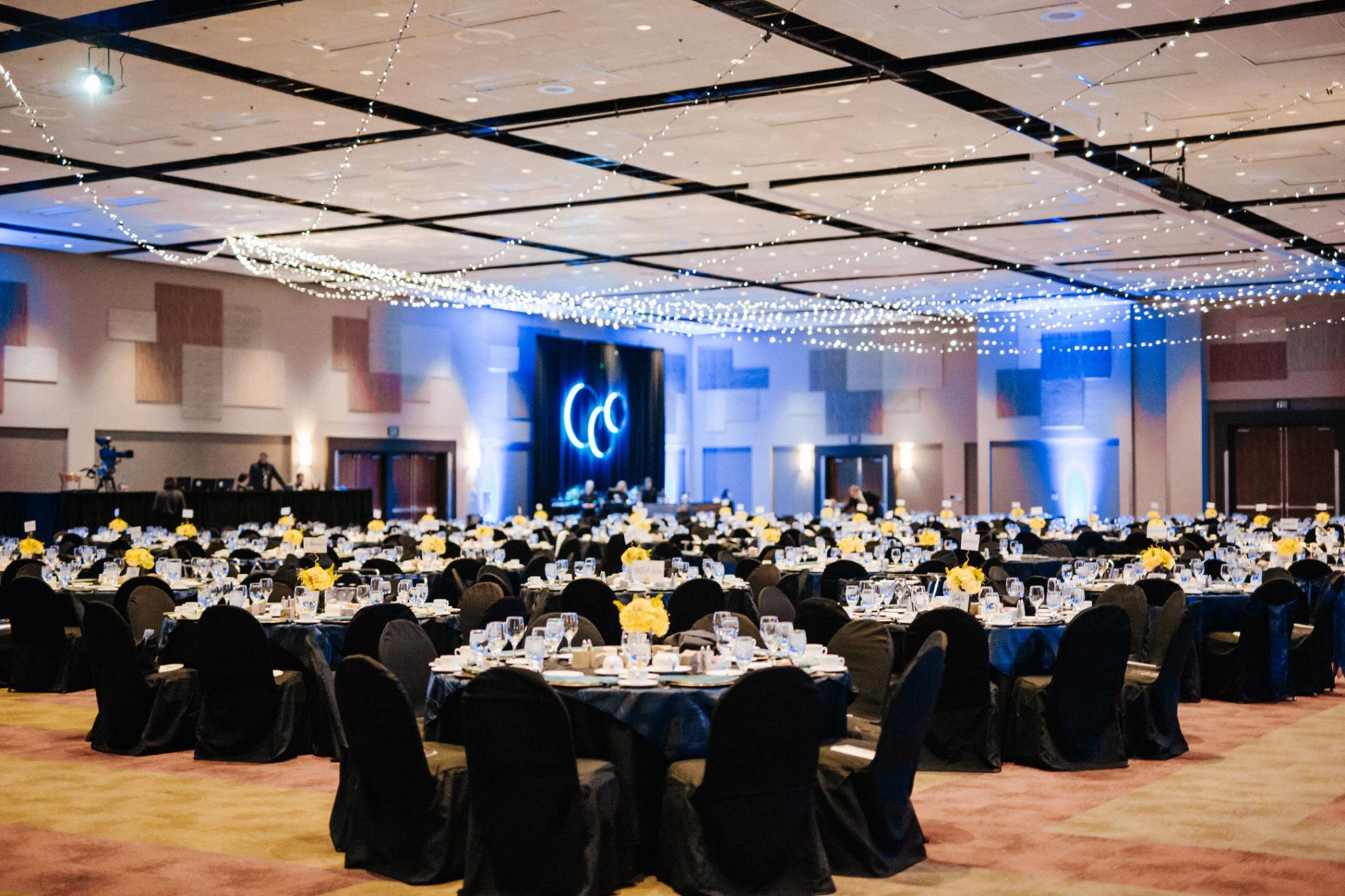 Photo of the beautiful setting of the FUNDSY Gala