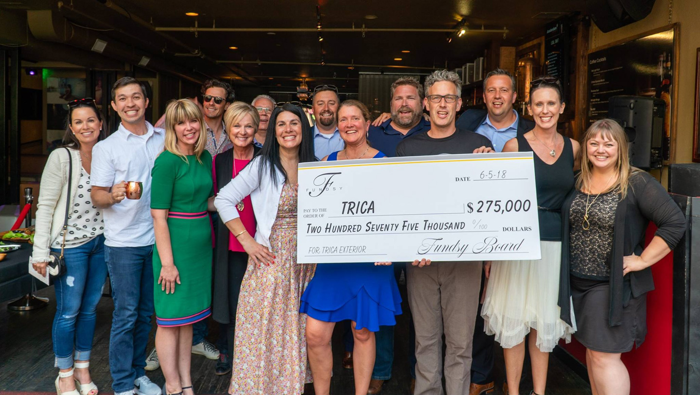 Photo of FUNDSY's support of TRICA