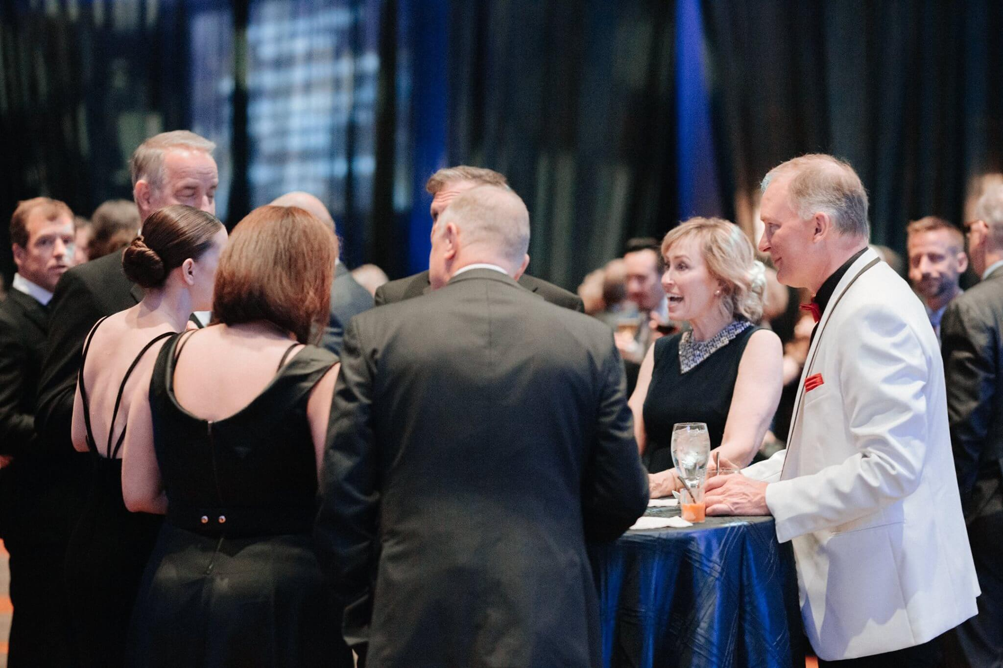 Photo of happy guests at a FUNDSY Gala Event