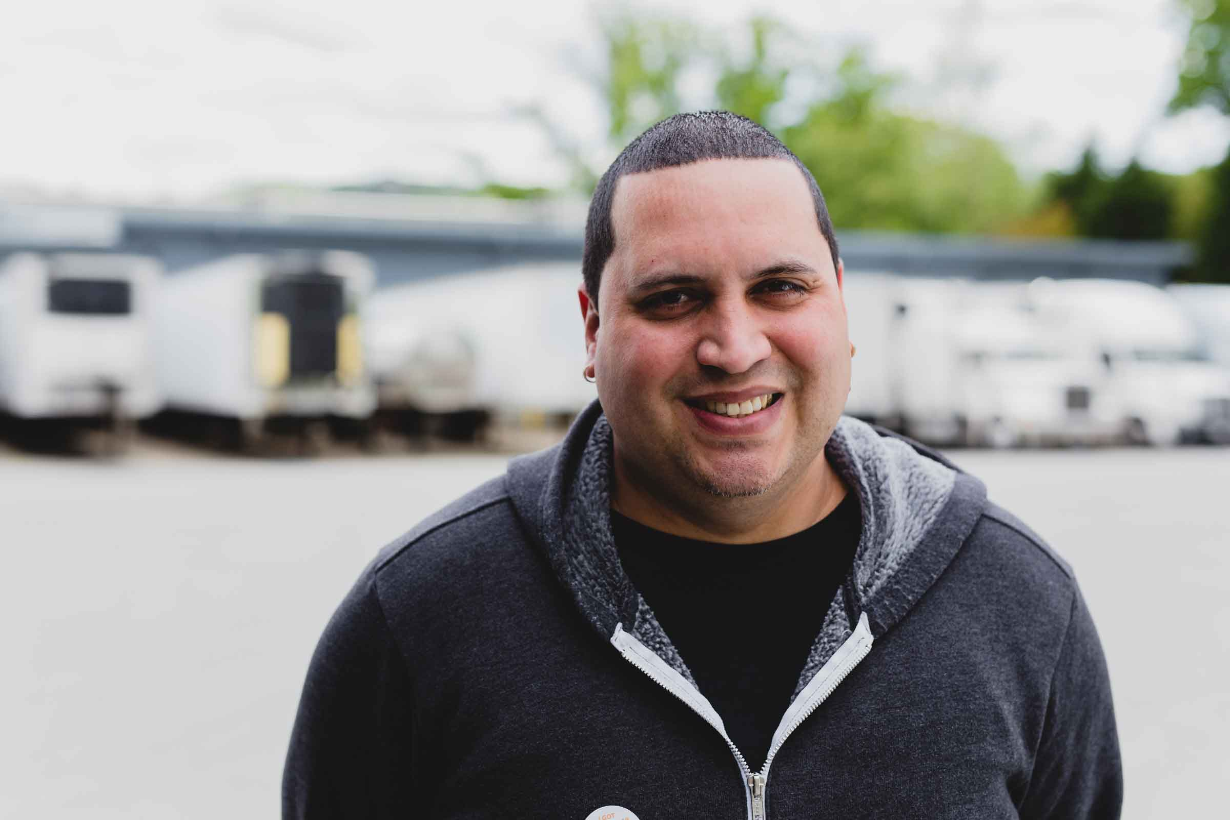 Nelson Castillo in Shipping at Arcadia Beverage