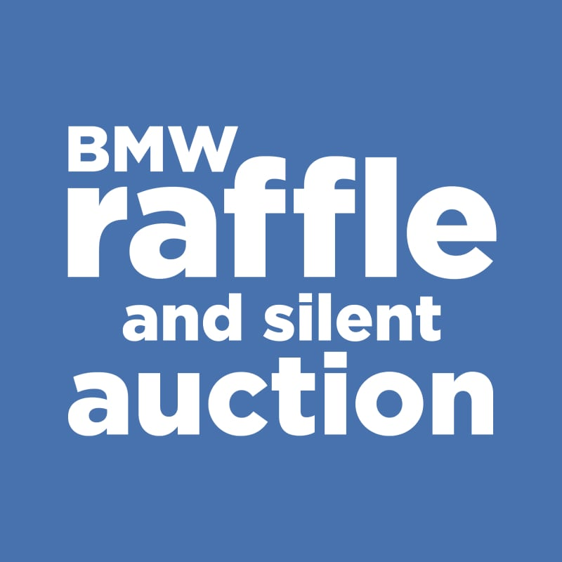 BMW raffle and silent auction