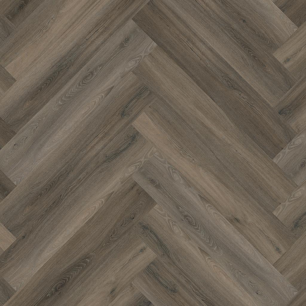 FLOORLIFE Yup Collection Herringbone Visgraat Dark Grey DRYBACK