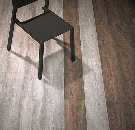 FORBO alura wood brown raw timber
